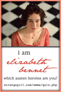 Take the Jane Austen Character Quiz here!